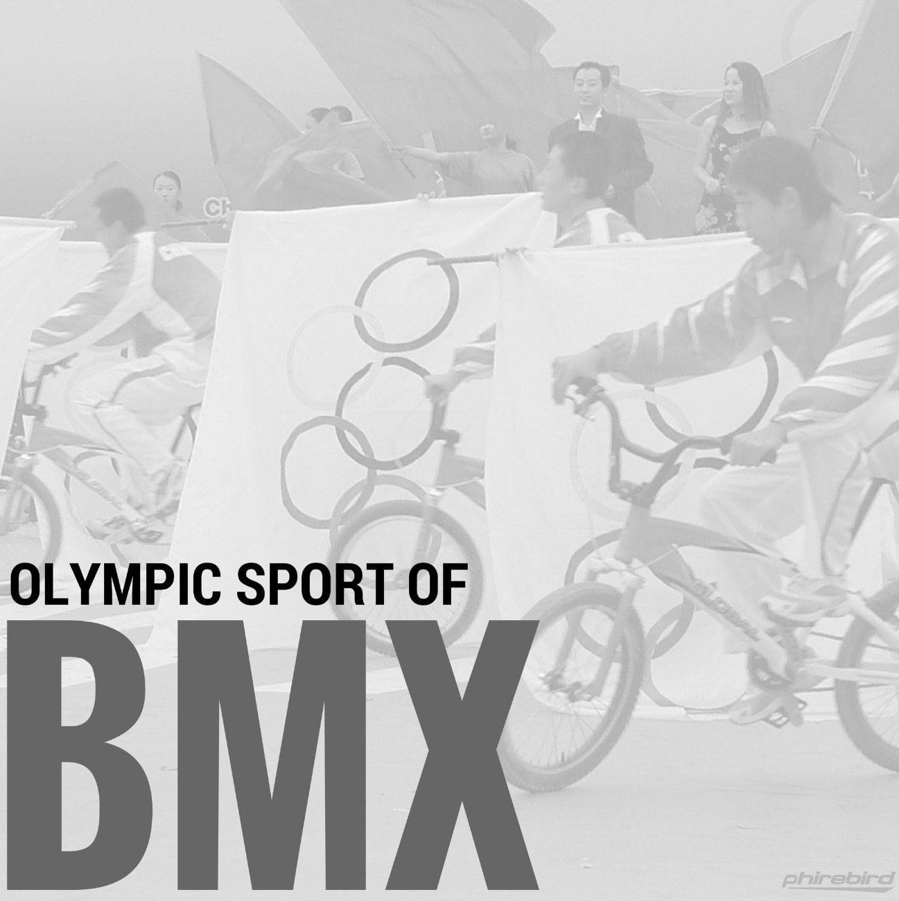 Olympic Sport Of BMX Phirebird BMX -