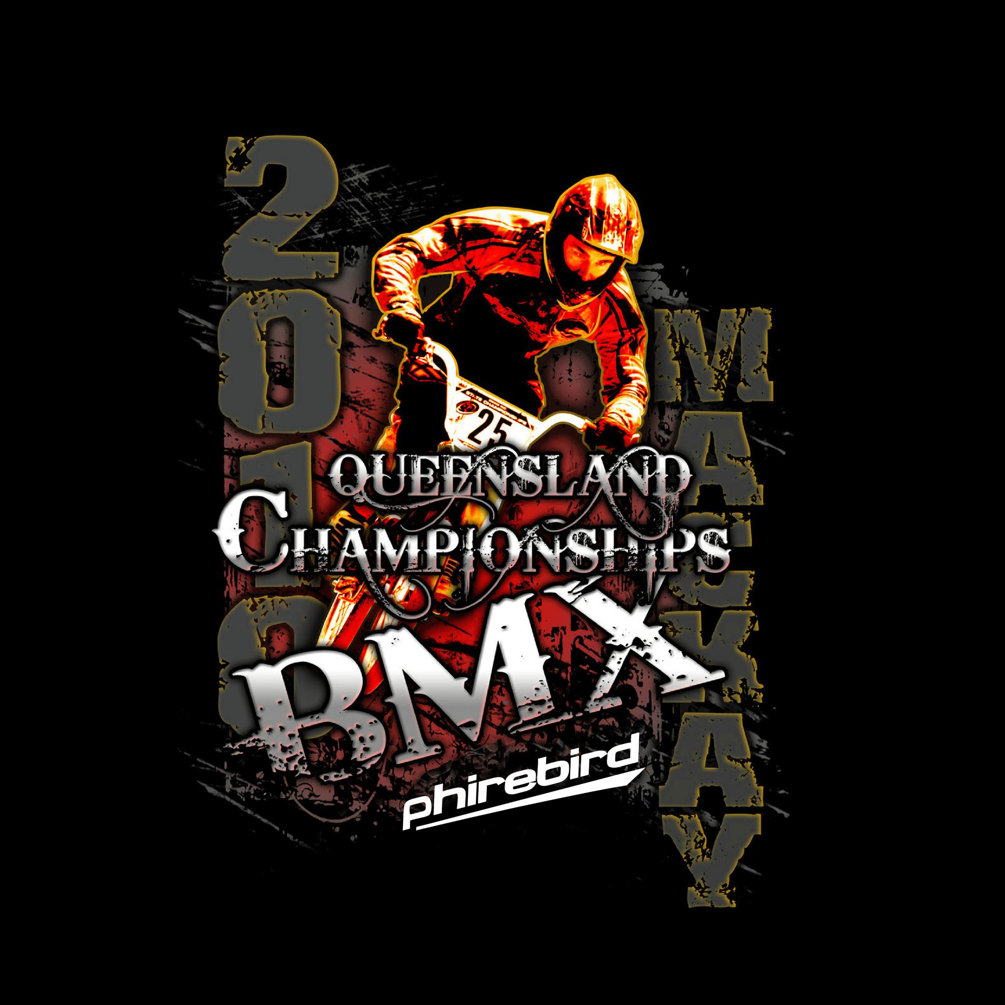 Custom BMX Tshirts Phirebird -